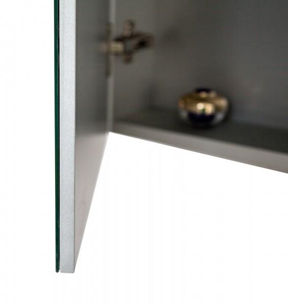 Spiegelschrank Multy BS120 aus Aluminium - Breite 120cm zoom thumbnail 4