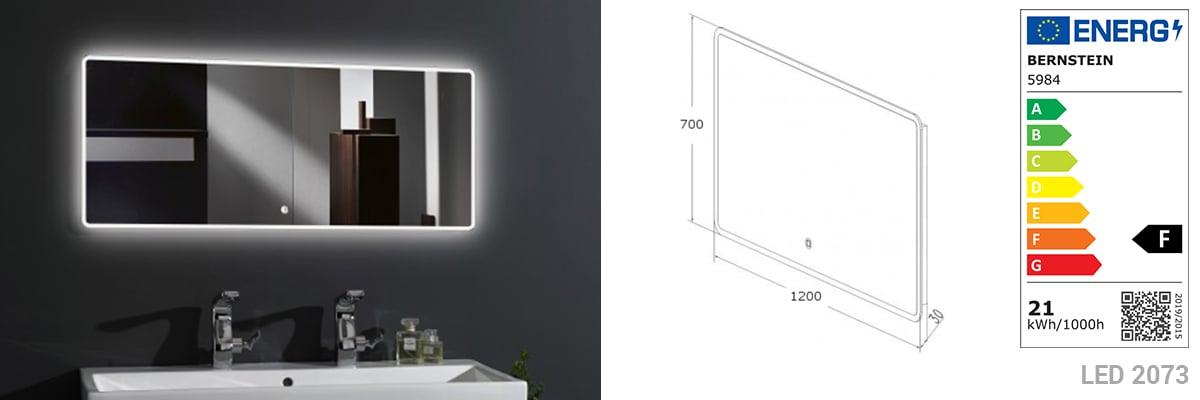 Badmöbel-Set N1200 Weiß - Spiegel und Seitenschränke optional zoom thumbnail 3