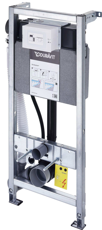 Duravit DuraSystem WC-Element  Geruchsabsaugung manuell