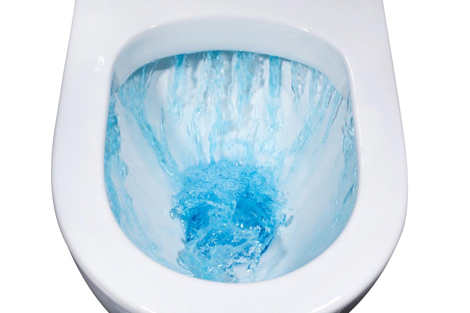 Spülrandloses Wand-Hänge WC B-8030R Weiß - mit Nano-Beschichtung - inkl. Softclose-Deckel zoom thumbnail 3