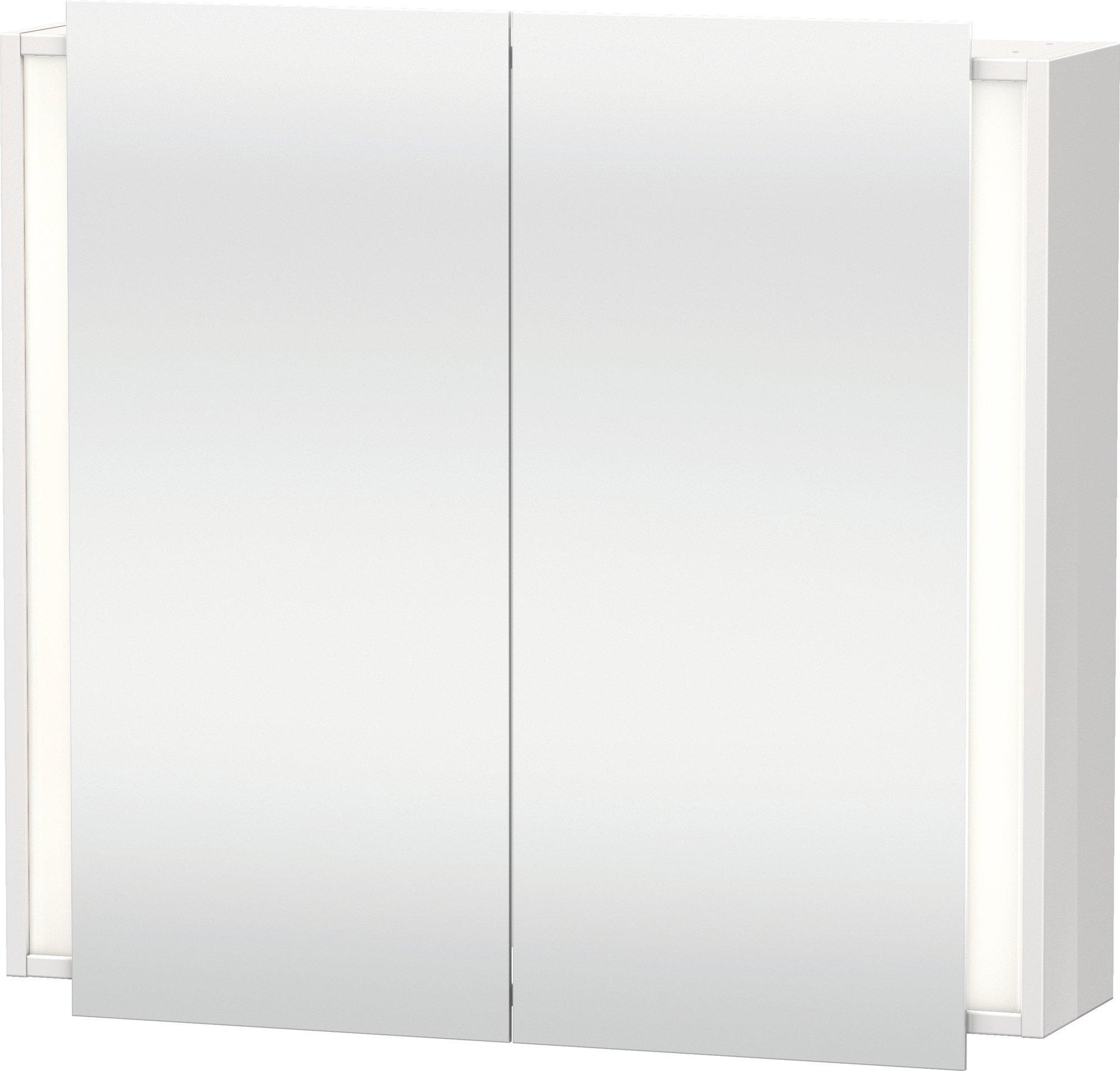 Duravit Ketho Spiegelschrank Weiß  800
