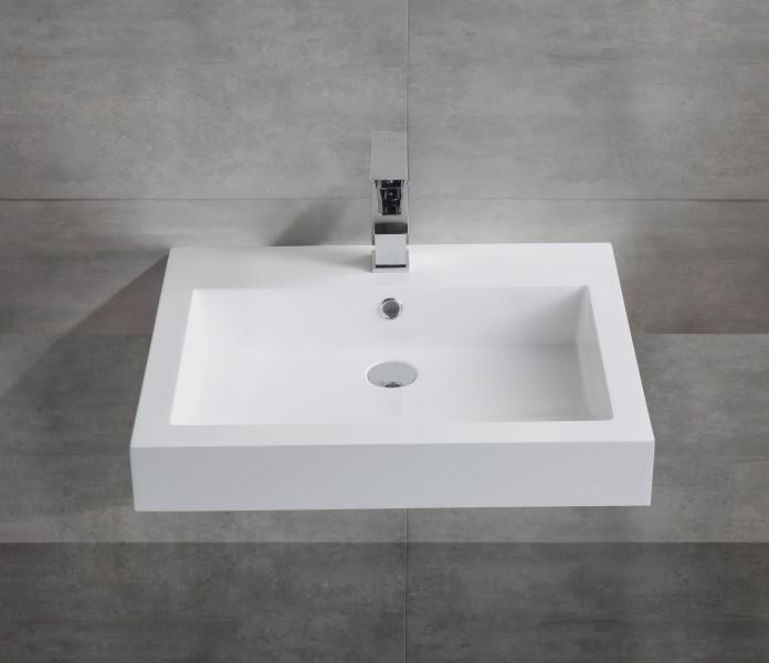 Wandwaschbecken Aufsatzwaschbecken BS6049 60 x 48 x 14cm  zoom thumbnail 3