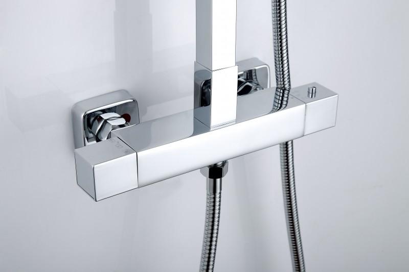 Design-Duschsystem Duschsäule SEDAL-Thermostat 8921C Basic (ohne Regendusche) zoom thumbnail 4