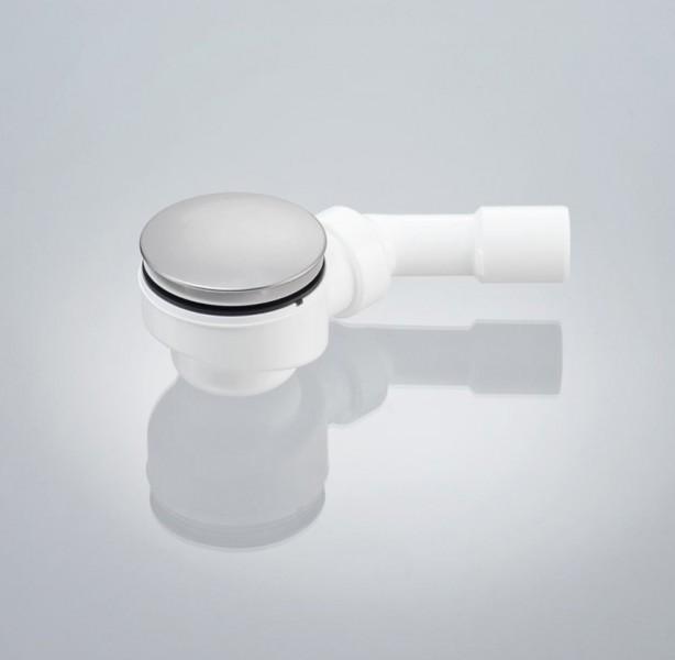 Ablaufgarnitur Typ B für Duschtassen mit 90mm Ablaufloch - 45° Ablaufbogen