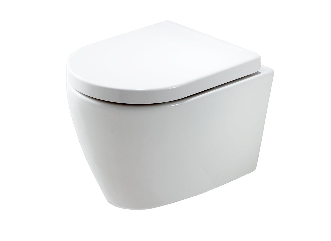 Wand-Hänge-WC B-8030 Weiß - inkl. Softclose-Deckel