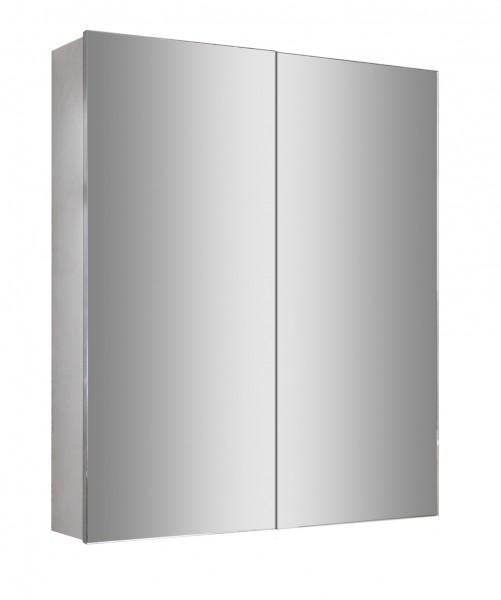 Spiegelschrank Multy BS60 aus Aluminium - Breite 60cm