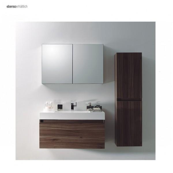 Aluminium-Spiegelschrank 2-türig - innen und außen Spiegel - 100 x 66 x 12 cm zoom thumbnail 4