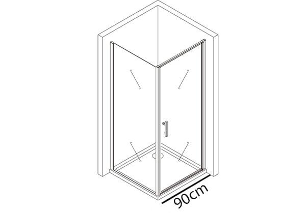 Tür 90cm