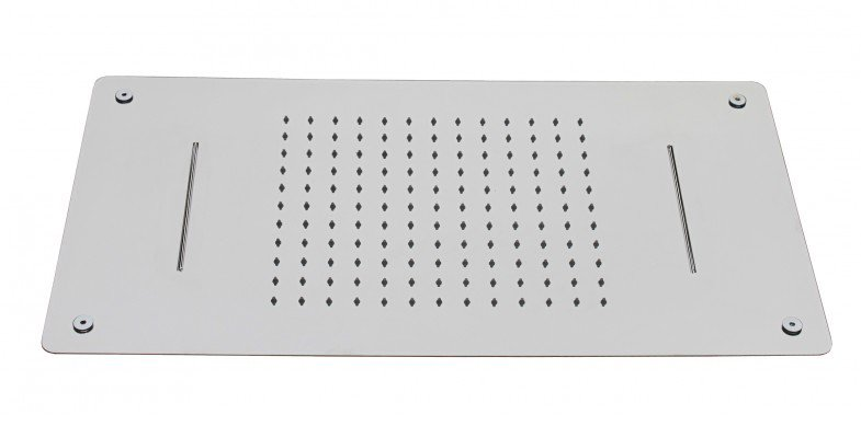 XXL-Regendusche Edelstahl-Deckenbrause DPG5017 superflach - 70 x 38 cm - Deckeneinbau