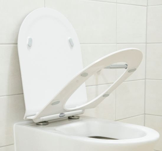 Flacher WC-Deckel Softclose WC-Sitz Ersatzdeckel U2019