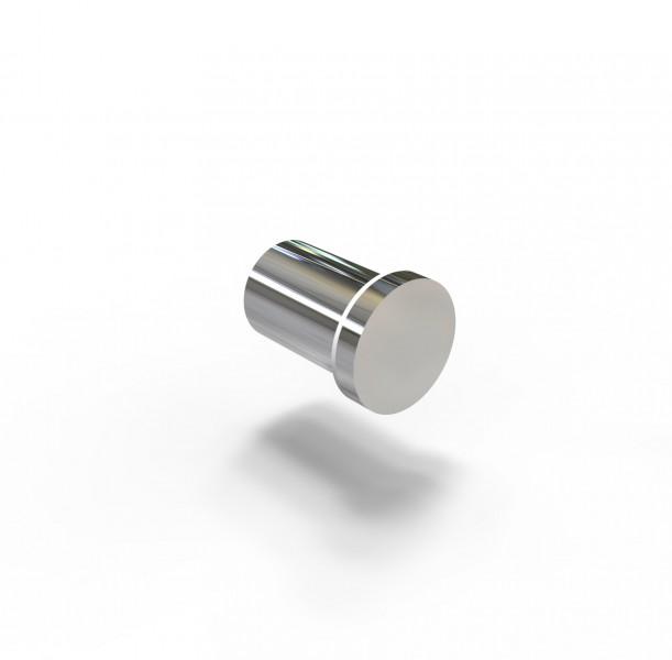 Moderner Handtuchhaken SDVHK Design rund - Serie VERSA - chrom