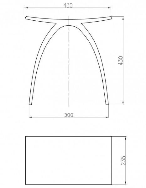 BERNSTEIN Luxus-Badhocker PB4001 aus Mineralguss zoom thumbnail 6