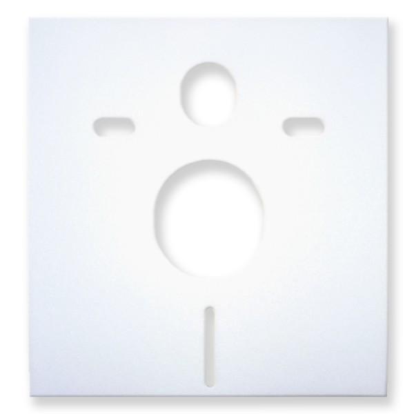 Schallschutzmatte für WC-Vorwandelement