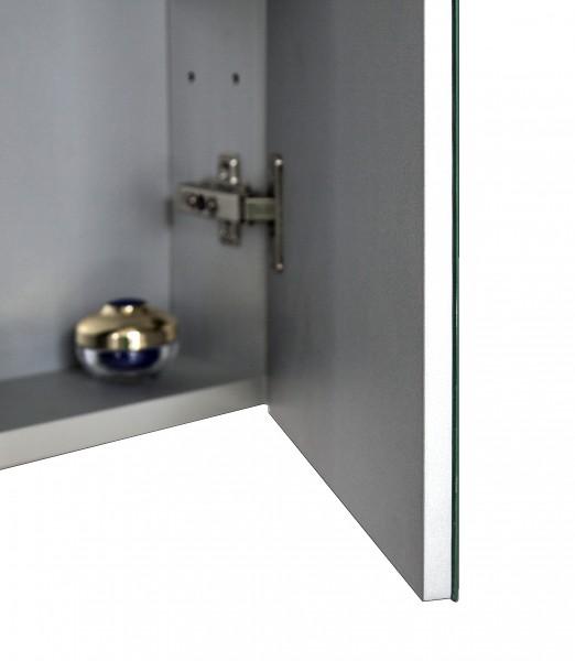 Spiegelschrank Multy BS60 aus Aluminium - Breite 60cm zoom thumbnail 6
