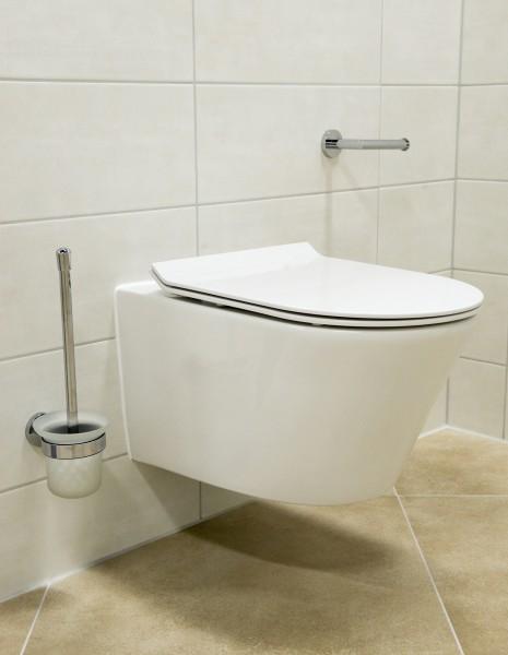 BERNSTEIN Wand-Hänge-WC Toilette CH1088 - inkl. WC-Deckel Softclose flach zoom thumbnail 4