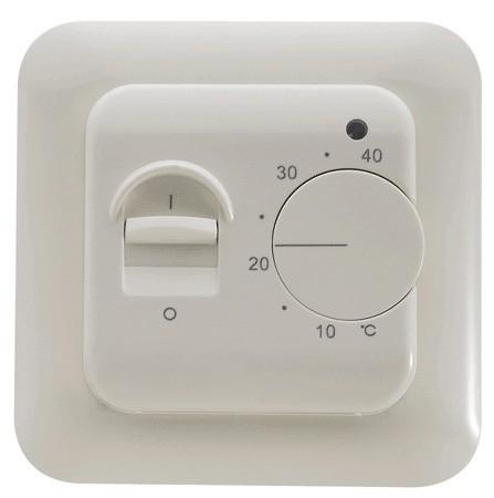 Thermostat RTC70.26 für elektrische Fußbodenheizung mit TWIN-Technologie