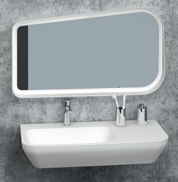 Zahnputzbecher / Kosmetikdose SDVZPB Design rund - Serie VERSA - chrom