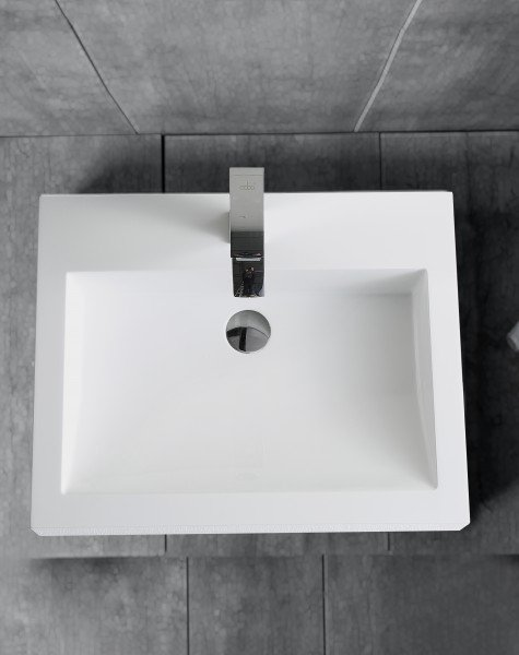 Wandwaschbecken Aufsatzwaschbecken BS6049 60 x 48 x 14cm  zoom thumbnail 4