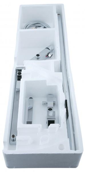 Design-Duschsystem Duschsäule Thermostat 8821C Basic - Auswahl Duschkopf eckig zoom thumbnail 5