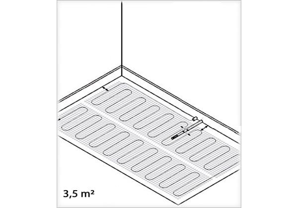 3.5 m²