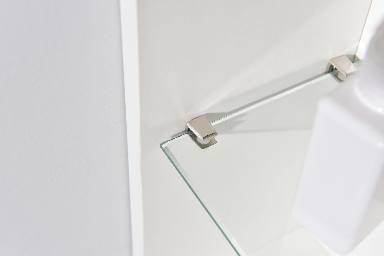 Badmöbel-Set Compact 500 für Gäste-WC - Weiß matt zoom thumbnail 5