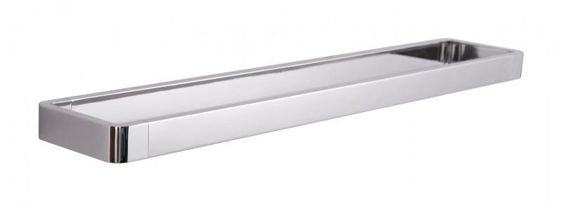 Hochwertiger Handtuchhalter SDLHH60 - Serie LINEAR - chrom - Zahnputzbecher / Seifenspender / Ablage optional