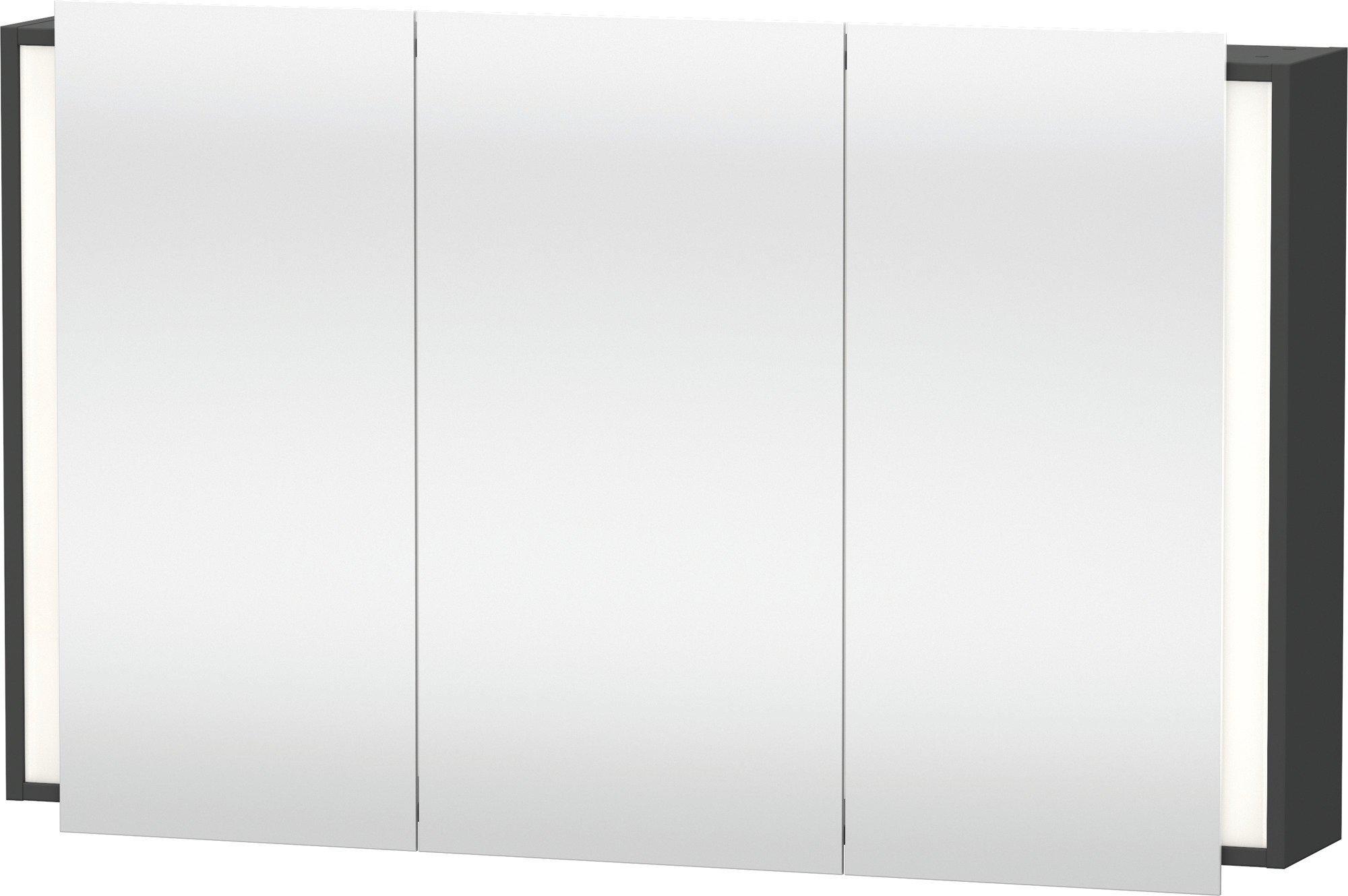 Duravit Ketho Spiegelschrank Graphit  1200