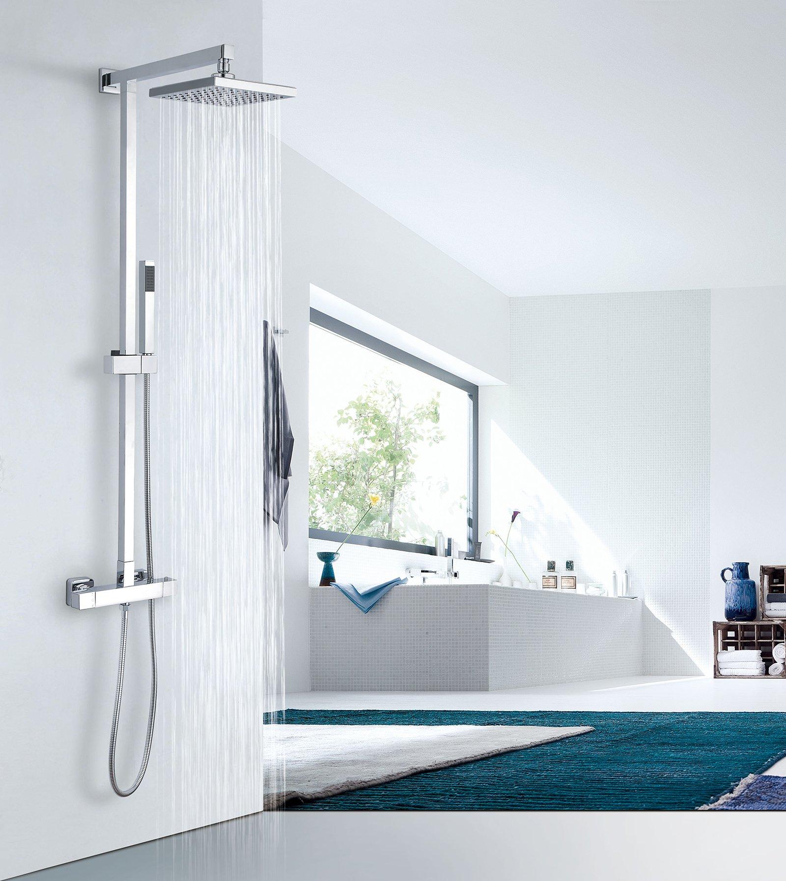 Design-Duschsystem Duschsäule SEDAL-Thermostat 8921C Basic