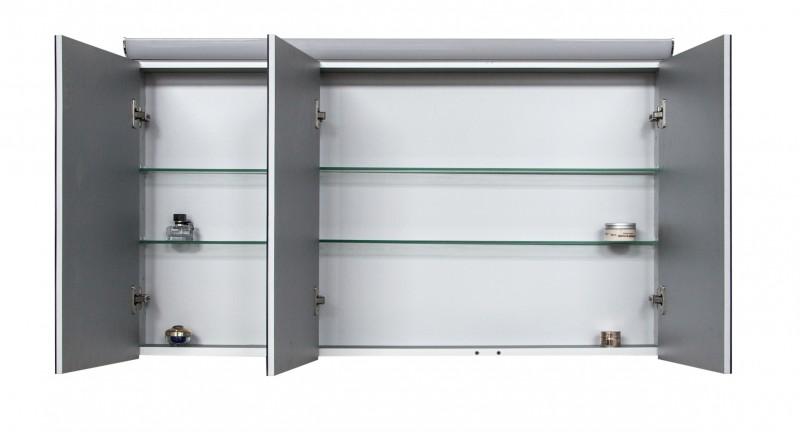 Spiegelschrank Multy BS120 mit LED-Beleuchtung - Breite 120cm zoom thumbnail 5