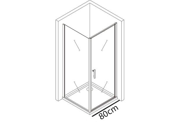 Tür 80cm