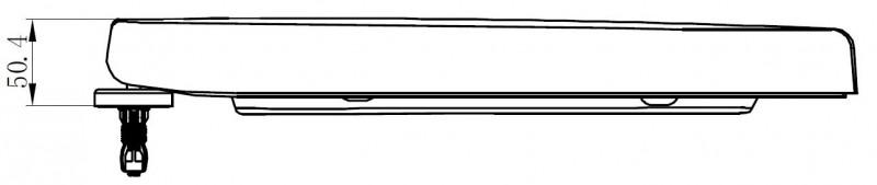 WC Deckel Duroplast WC Sitz Ersatzdeckel für WC CH101 und 101R zoom thumbnail 4
