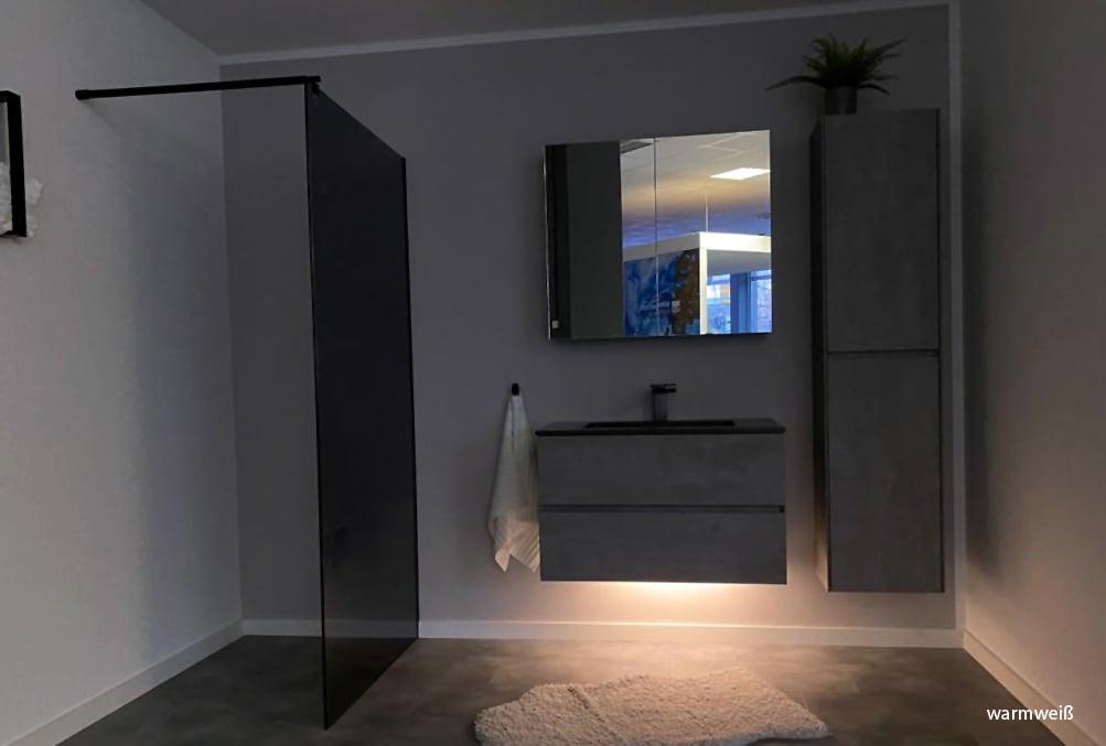 LED-Lichtleiste für Badmöbelsets - in Warmweiß und Kaltweiß - diverse Längen zoom thumbnail 6