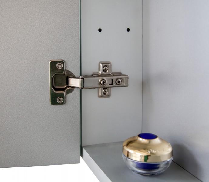 Spiegelschrank Multy BS120 aus Aluminium - Breite 120cm zoom thumbnail 6