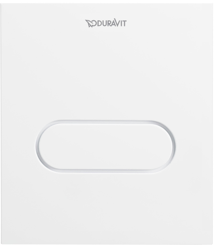 Duravit DuraSystem Betätigungsplatte A1 für Urinal Weiß