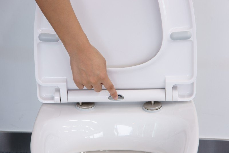 WC-Deckel Softclose WC-Sitz Ersatzdeckel U1009 - passend für BERNSTEIN WC NT2038 zoom thumbnail 6