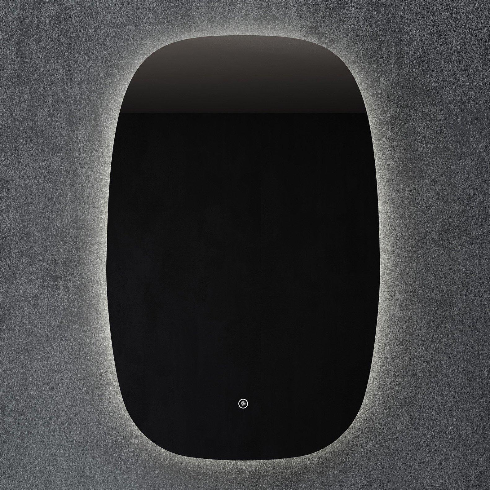 LED Lichtspiegel Badspiegel INALCO mit Spiegelheizung - 58 x 90 cm