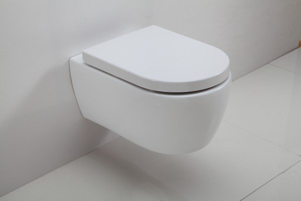 Spülrandloses Wand-Hänge WC NANO NT2039 - inkl. Softclose-Deckel zoom thumbnail 3