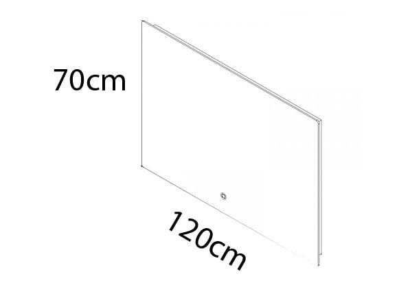 120 x 70 cm