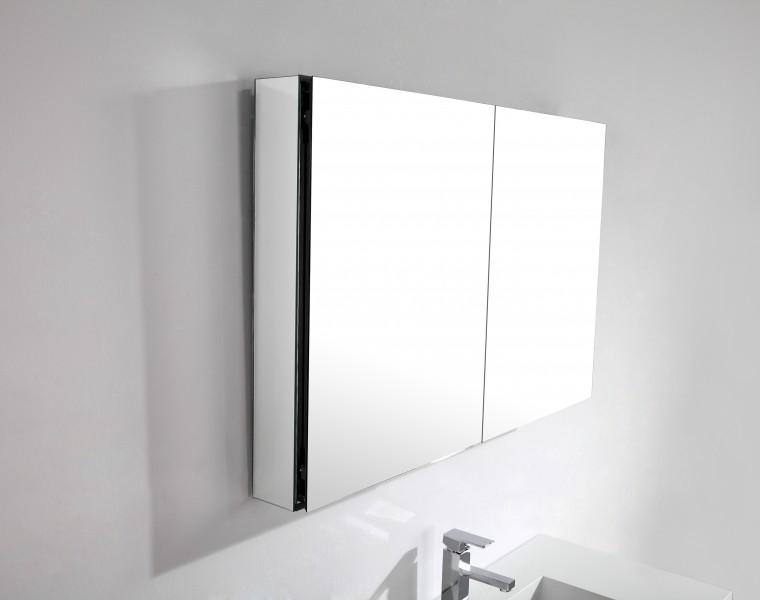 Badmöbel-Set A1000 Weiß inkl. Seitenschrank zoom thumbnail 5