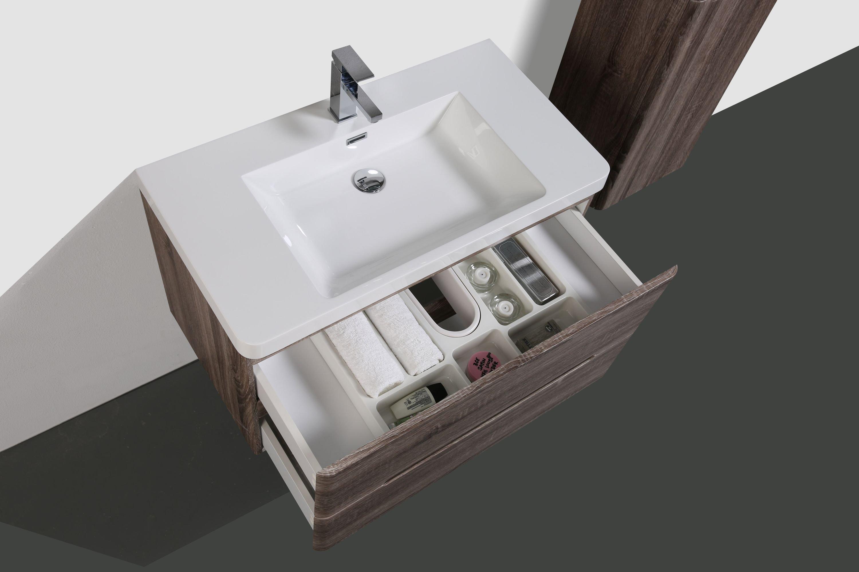 Schubladeneinsatz Kosmetikeinsatz für Badmöbel ab 70 cm Schrankbreite zoom thumbnail 4