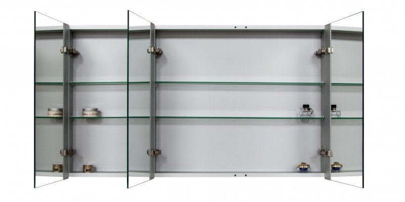 Spiegelschrank Multy BS120 mit Innenverspiegelung - Breite 120cm zoom thumbnail 4