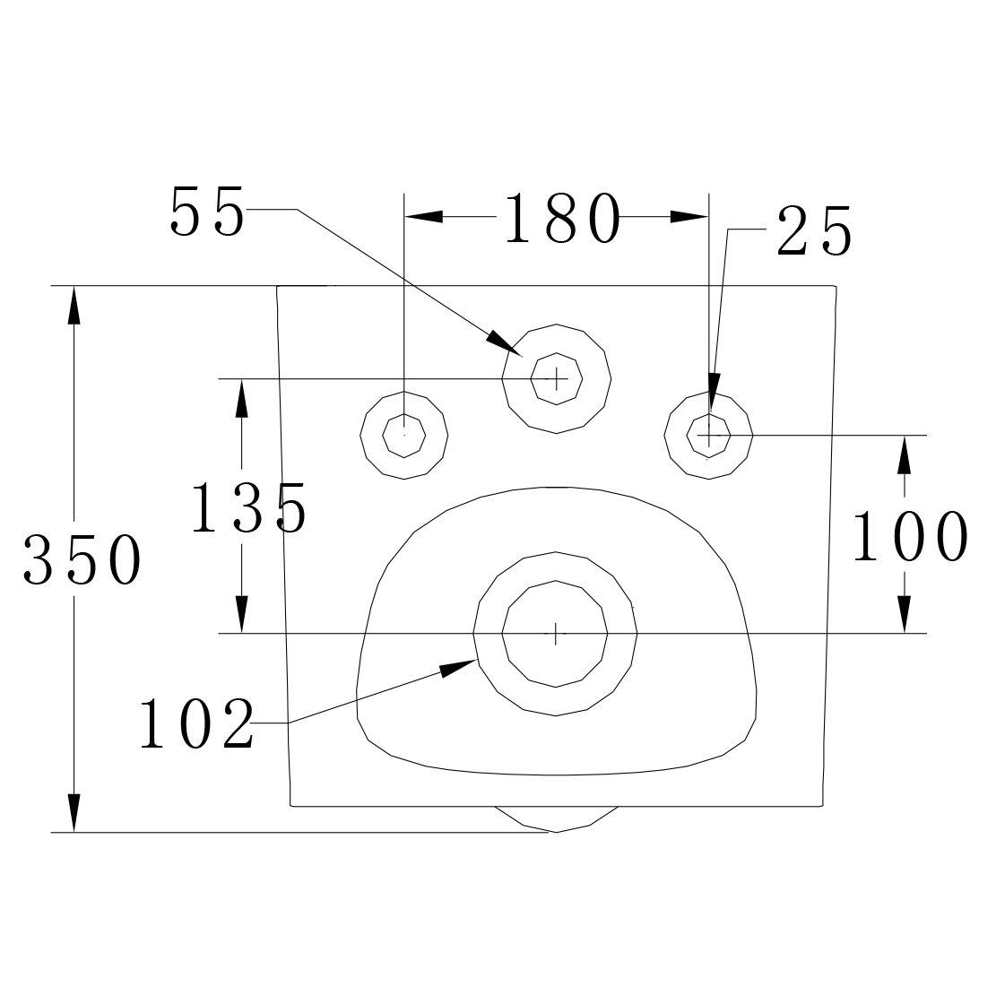 Spülrandloses Wand-Hänge WC B-8030R Weiß - mit Nano-Beschichtung - inkl. Softclose-Deckel zoom thumbnail 6