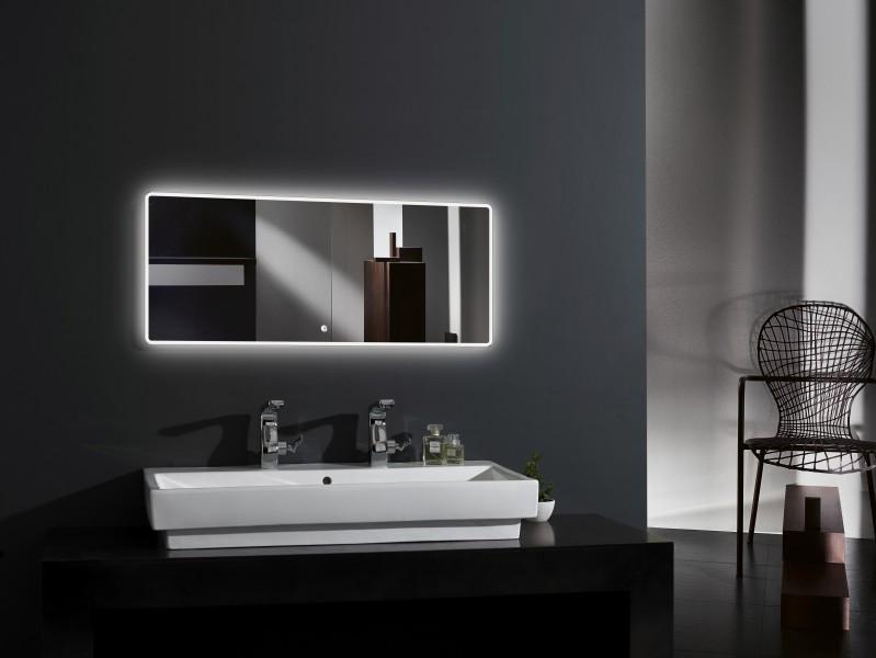 LED Lichtspiegel Badspiegel 2073 - Breite wählbar zoom thumbnail 4