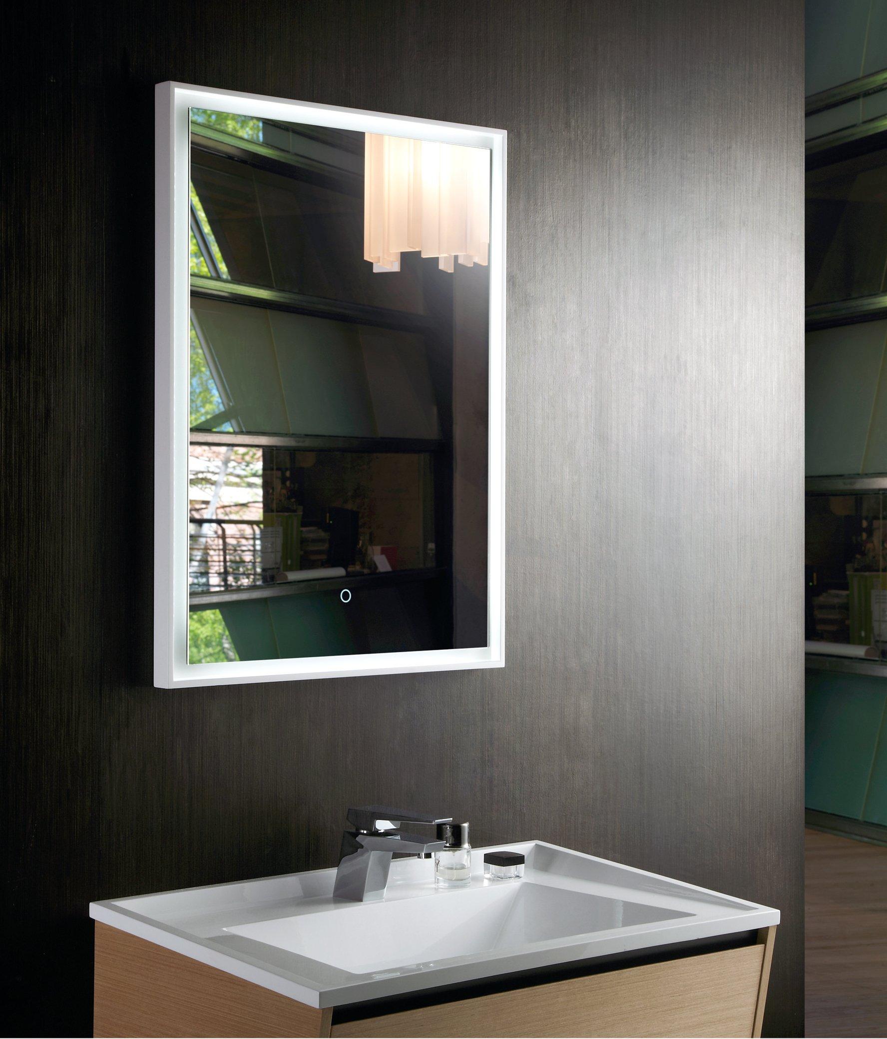 LED Lichtspiegel Badspiegel 2115 - Breite wählbar zoom thumbnail 4