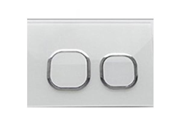 Modell 010 weiß Glas