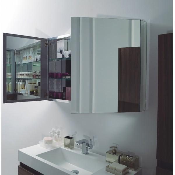 Badmöbel-Set A1000 Basic Weiß inkl. Spiegelschrank zoom thumbnail 4