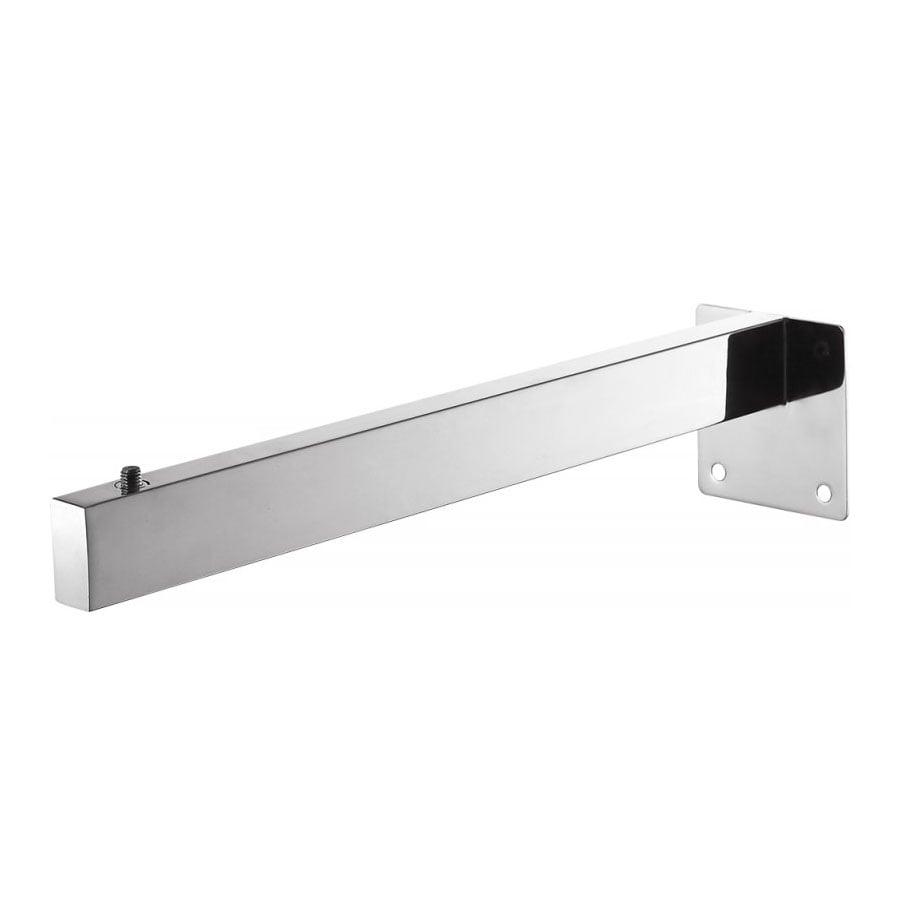 Wandhalterung Slim Counterboard aus Edelstahl - Standardhalterung für Waschtischplatte SMART-Line - 1 Stück