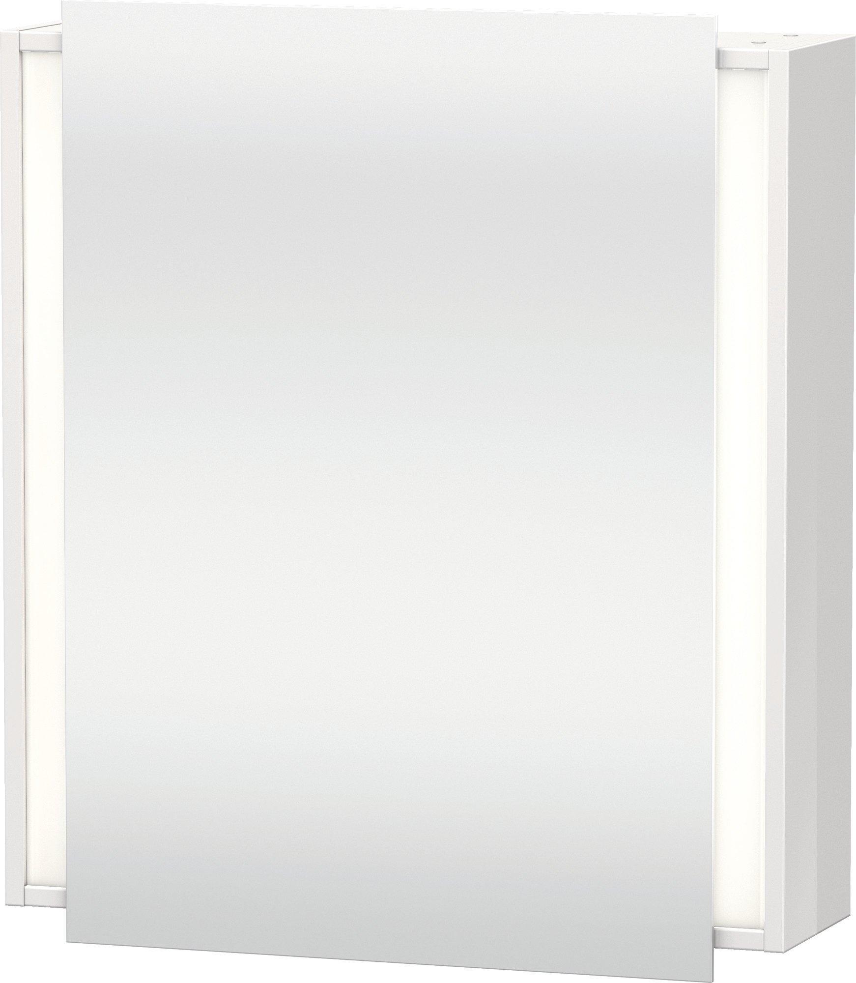 Duravit Ketho Spiegelschrank Weiß  650