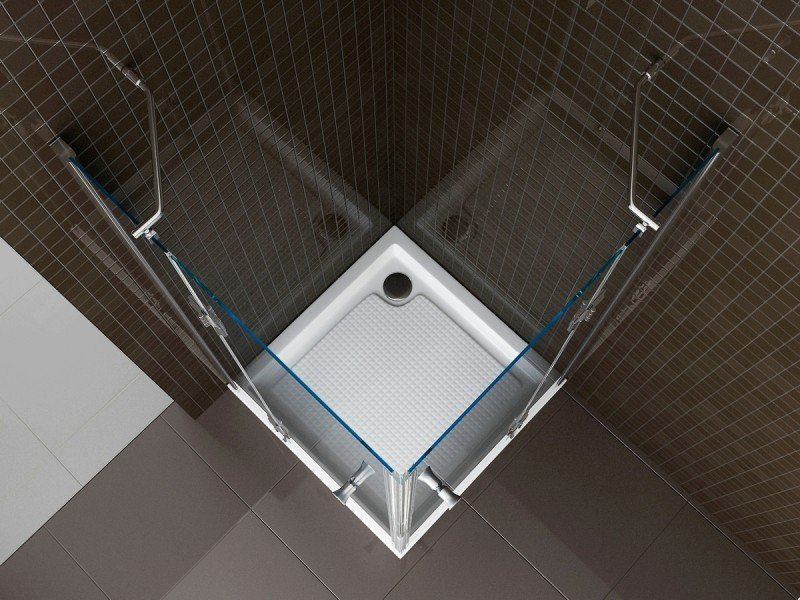 Duschabtrennung Nano Echtglas T801 / EX801 - 80 x 80 x 195 cm