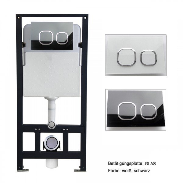 WC-Vorwandelement G3004A inkl. Betätigungsplatte - Modell wählbar zoom thumbnail 4